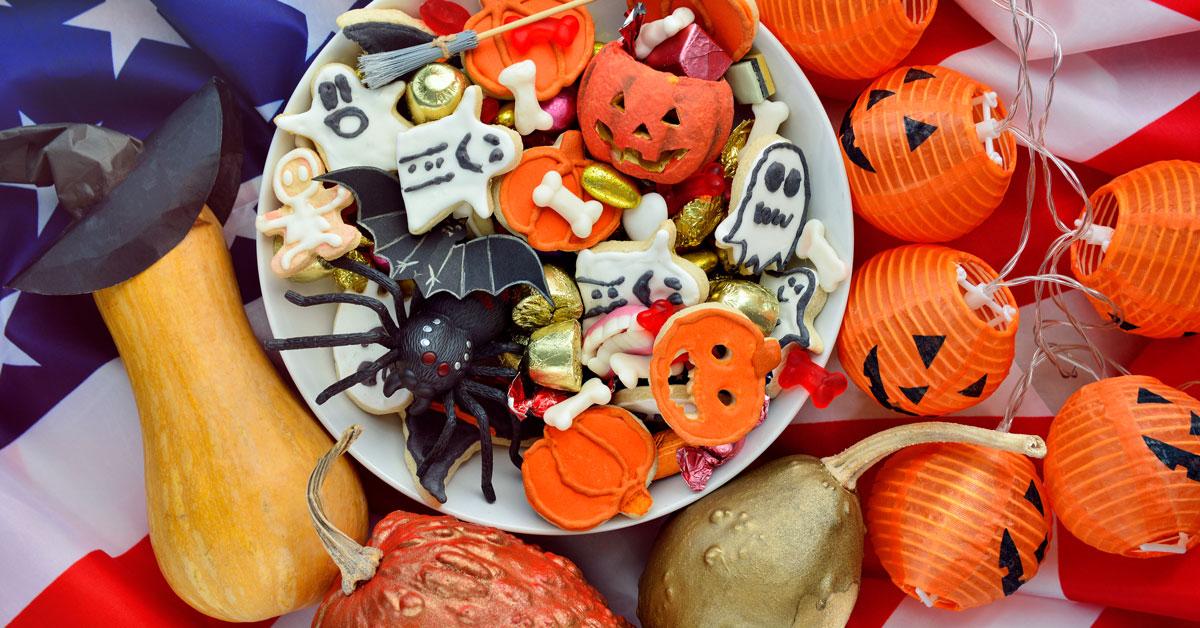 Qu'est ce qui fait d'Halloween un évenement si différents de la France aux USA ?